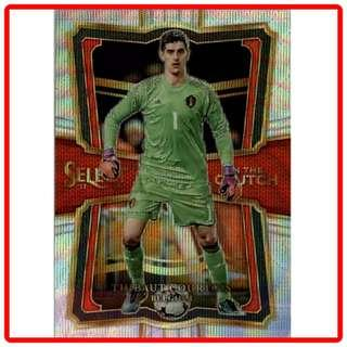 🚚 2017 Panini Select Soccer Thibaut Courtois In The Clutch