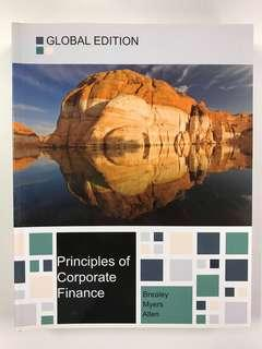 Principles of Corporate Finance, Global Edition by Richard Brealey - Finance textbook金融書