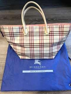 Burberry 藍標 水餃包 4-5成新 出清價$500元
