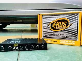 EROS car audio(high performance power amplifier)-4/5/7 BAND