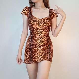Leopard Bodyscon Dress