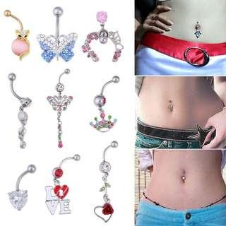 Pink Belly Ring