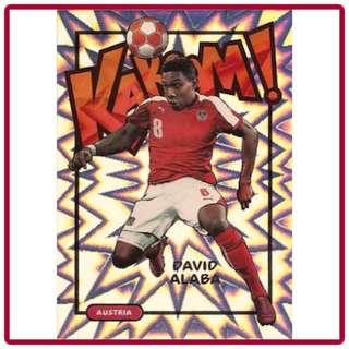 🚚 2017 Panini Select Soccer David Alaba Kaboom!