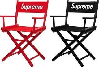 Supreme SS19 Director Chair