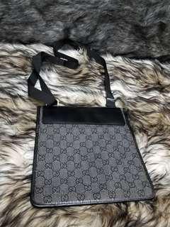 Gucci Denim GG Crossbody Bag