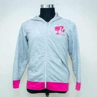Authentic Women BARBIE Merchandise Hoodie ZIP Sweatshirt