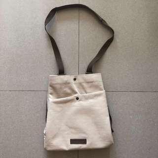 Authentic Starbucks 3-ways tote bag (shoulder/crossbody/backpack)