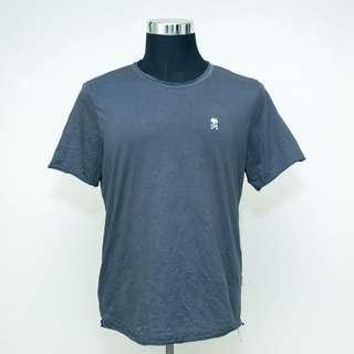 Authentic FIVE FOUR Grey T-Shirt Men Large