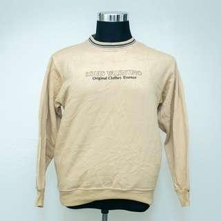 Vintage LOUIS VALENTINO Spell Out Pullover Sweatshirt