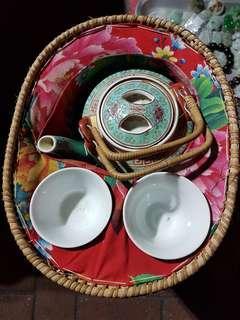 福祿壽 茶壺一套