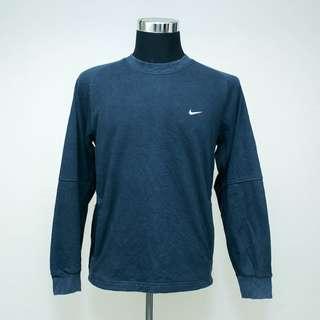Authentic NIKE Dri-Fit Dark Blue Pullover Medium Sweatshirt