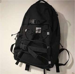 🚚 《實拍》Carhartt 18年 卡哈 黑色反光帶 大容量工裝風格 後背包 兩款標不一樣