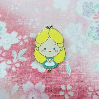 上海 迪士尼襟章 2016 愛麗絲 Alice Disney Pin Limited Release