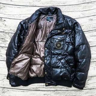 🚚 原價3000元、9成新、專櫃品牌 Big John 深咖啡色 立領羽絨外套 M號、#半價衣服市集