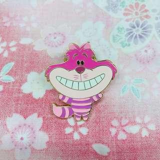 上海 迪士尼襟章 2016 妙妙貓 Cheshire Cat Disney Pin Limited Release