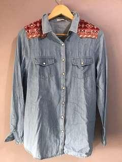 Cotton On Denim Long Sleeve