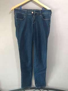 H&M Skinny Low Waist Denim Pants