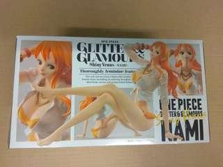 全新未開 BANPRESTO 景品 One Piece 海賊王 奈美 娜美 Nami 泳裝坐姿 行版 GLITTER & GLAMOURS G&G