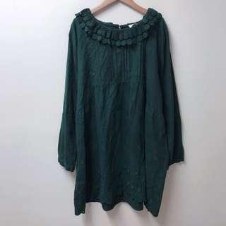 日本鄉村風蕾絲洋裝