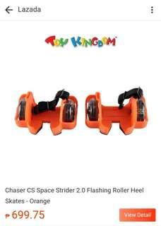 Flashing Rollers Heel Skates