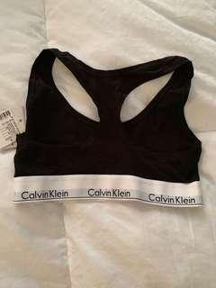 Calvin Klein sports bra NEW