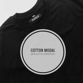 kaos polos (cotton modal 30s) very high quality material