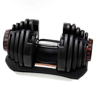 專業家用快速調節啞鈴健身器材 24kg/40kg   家用訓練   可調節   3秒極速調重   健身啞鈴