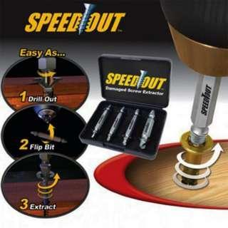 Speed Out 滑牙救星 螺絲快速提取器