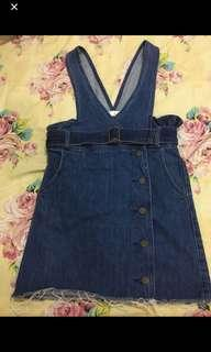overal blue jeans bahan tebel good Quality 👍🏻