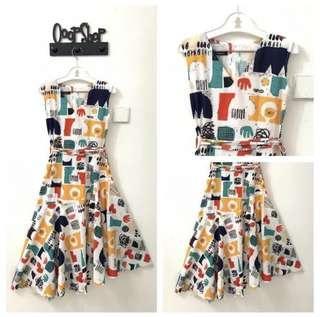 Callathelabel dress