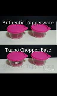 🚚 Instock Authentic Tupperware  Turbo Chopper Base with seal (1)  Tupperware $10/each