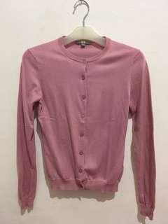 Cardigan Pink Uniqlo