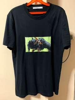Givenchy SS17 ''Fighting Rottweiler'' T-shirt