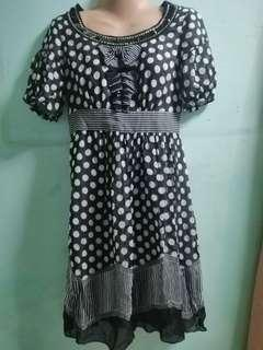 Black Polka Dots Dress