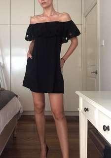 SEED off shoulder dress