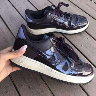 Purple Nike AF1'S