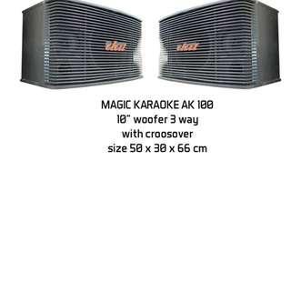 """Speaker Pasif Khusus Karaoke 10""""Plus Bricket Baru katapang kab.bandung"""