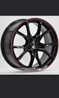 Honda vezel 16 inch rim or  17 inch rim