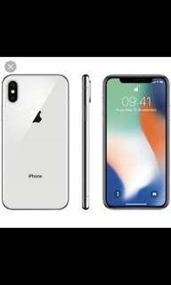🚚 iPhone X 64g女用美機 保固還有半年~