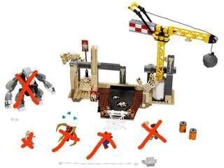 Lego 76037 spiderman marvel 淨場景(不連人仔及犀牛)