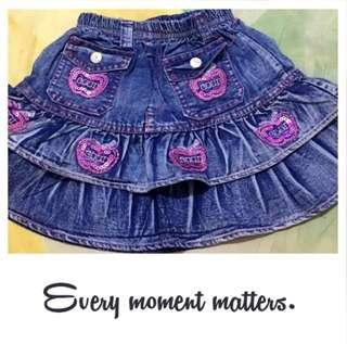 Rok Jeans Anak #rokjeans#skirt#girl#murah#ibuhebat