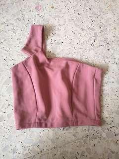 🚚 Pink toga Top