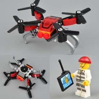 🚚 Lego 60207 City Sky Police Drone & Jail Prisoner Minifigure