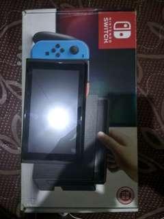 Nintendo Switch Konsol + Stik ipega 9083 + Charger
