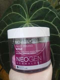 Neogen Bio Peel Wine Dermatology (10pads + tempatnya)