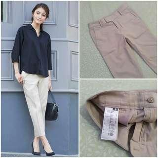 UNIQLO Cropped Pants (Natural JP 58)