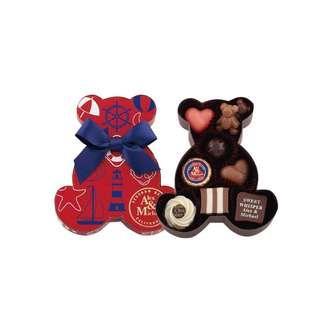 Morozoff bear 熊仔甜蜜朱古力禮盒 9件裝 chocolate redondo beach california alex & michael lovely bear