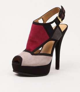 Nine West Colour-Block Heels AU Size 6