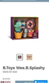 B. Wee B Splashy Baby Toy Bath Time - B. Toys by Battatt