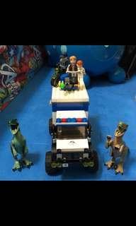 二手/LEGO樂高75917侏羅紀世界Raptor Rampage